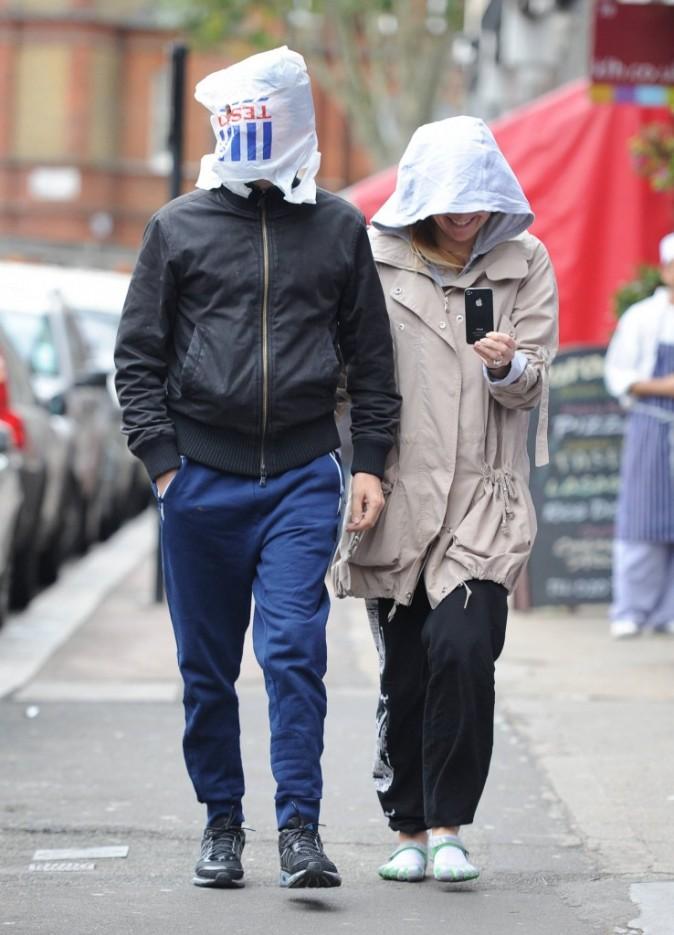 Kate Hudson et son mari passent presque innaperçus...