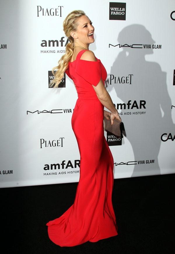 Kate Hudson lors de la soirée amfAR's third annual Inspiration Gala à Los Angeles, le 11 octobre 2012