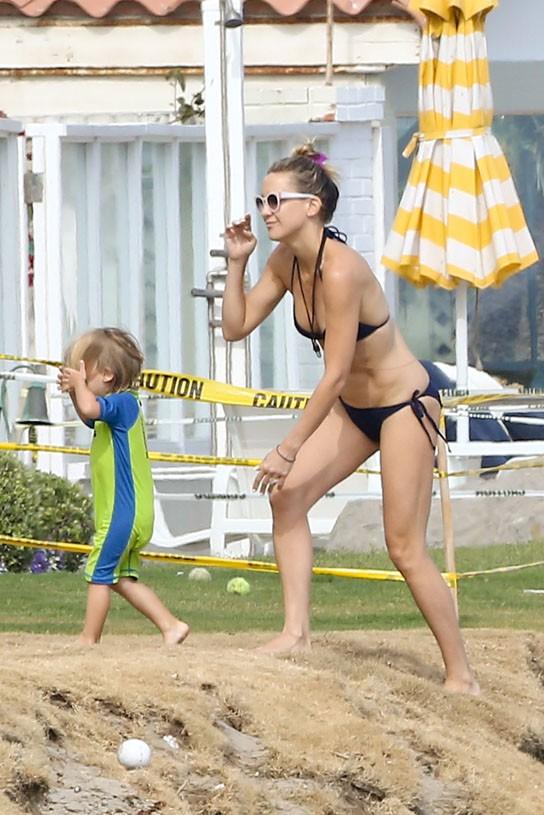 Kate Hudson à Malibu le 3 mai 2014