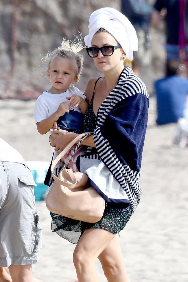 Kate Hudson à Malibu le 4 mai 2014