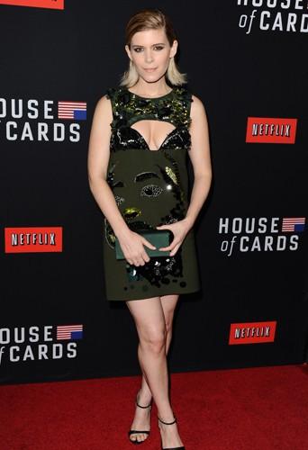 Kate Mara à Los Angeles le 13 février 2014