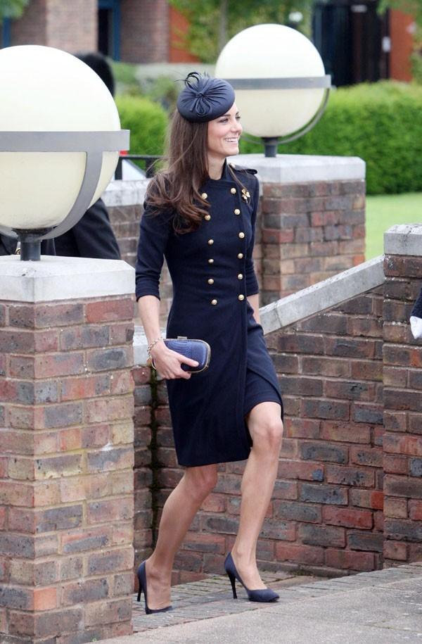 L'élégante arrivée de Kate Middleton !