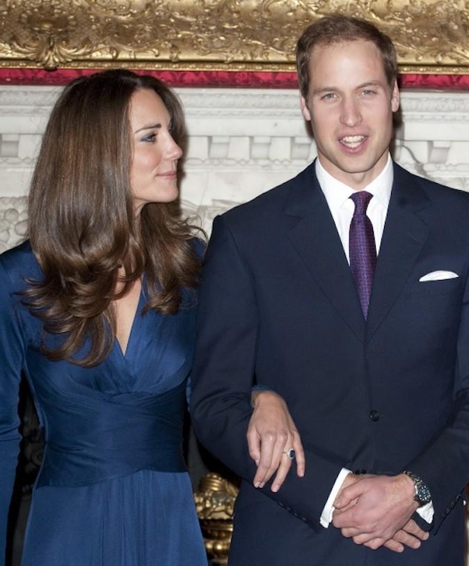 La bague de fiançailles de Kate