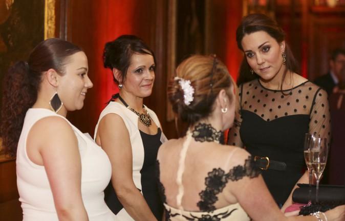 Kate Middleton à Kensington Palace le 19 novembre 2014
