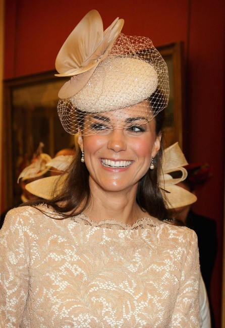 Kate Middleton à Guildhall à Londres, le 5 juin 2012.