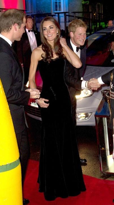 Soirée de gala ou pas, Kate Middleton ne se contrôle pas !