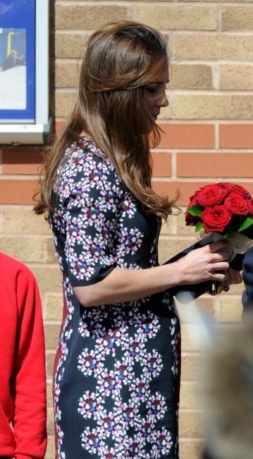 La jolie Duchesse est enceinte de six mois
