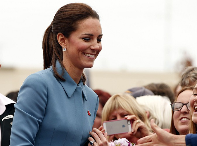 Kate Middleton à Blenheim le 10 avril 2014