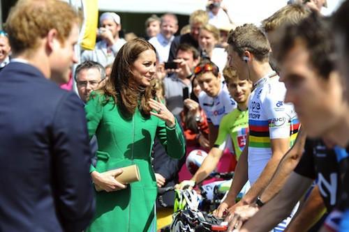 Photos : Kate Middleton : elle met le Tour de France à ses pieds !