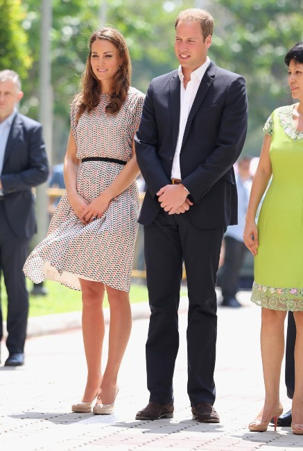 Kate Middleton et le prince William à Queenstown à Singapour, le 12 septembre 2012.