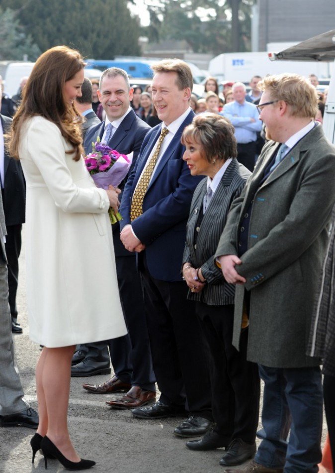 Kate Middleton le 12 mars 2015