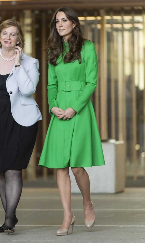Kate Middleton et le Prince William lors de la visite de la Maison Parlementaire de Canberra le 24 avril 2014