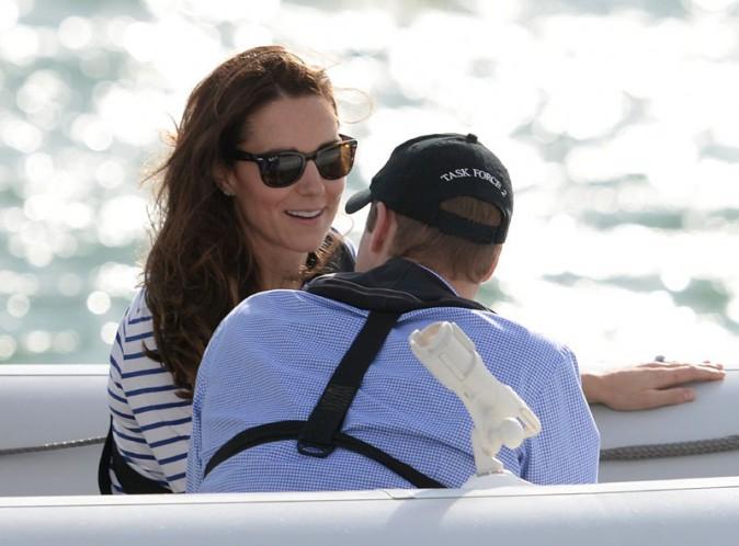 Kate Middleton et le Prince William à Auckland, en Nouvelle-Zélande, le 11 avril 2014