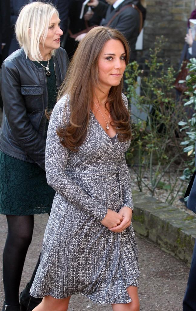 Kate Middleton en visite à la Hope House : Action on Addiction de Londres le 19 février 2013