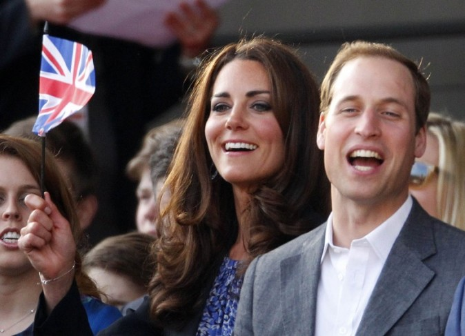 Kate Middleton et le Prince William au concert du Jubilé de la Reine le 4 juin 2012