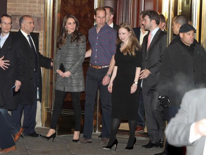 Kate Middleton et le prince William le 8 décembre 2014