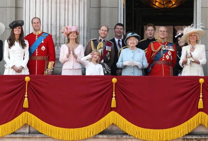 Avec toute la famille royale !