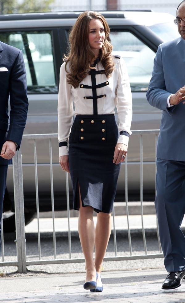 Kate en toute élégance ...