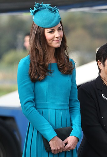 Kate Middleton à Dunedin le 13 avril 2014