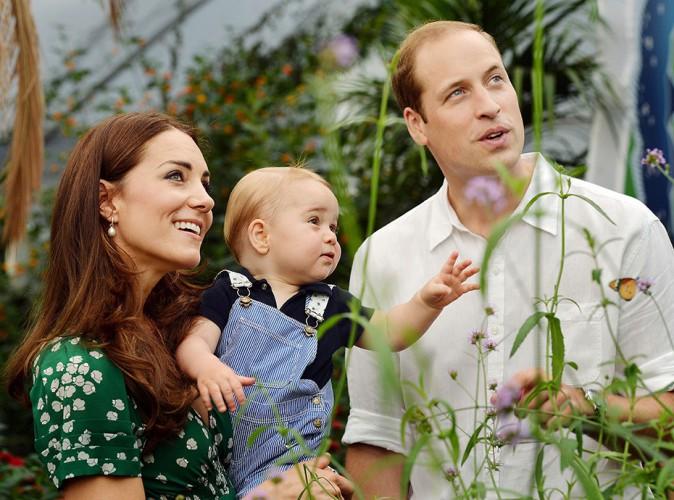 Photos : Kate Middleton et Prince William : ils dévoilent deux photos inédites du Prince George pour célébrer son 1er anniversaire !