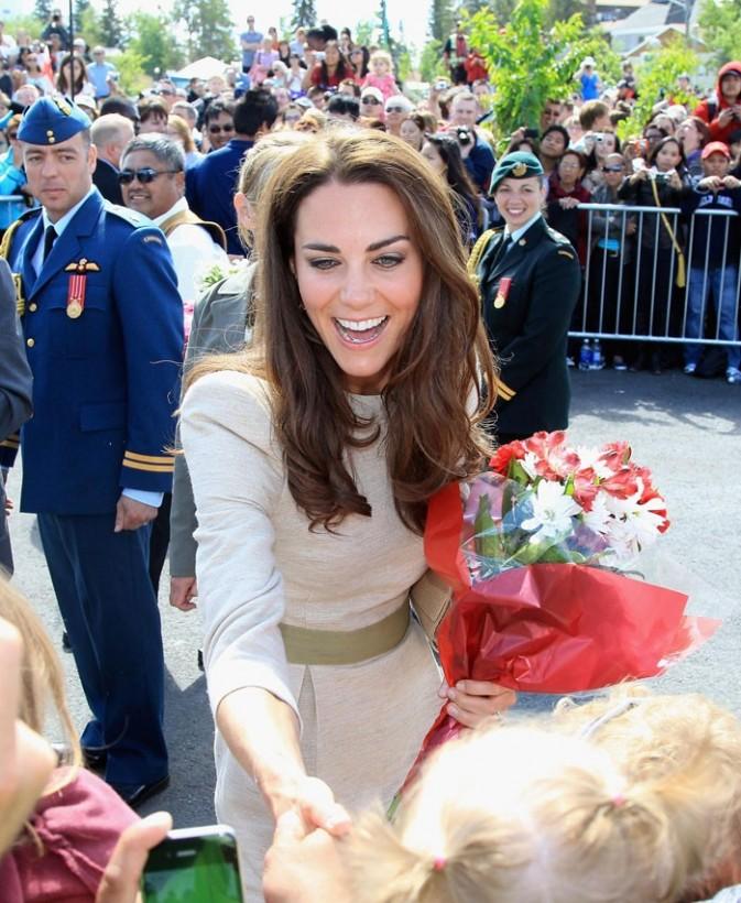 Kate Middleton fait carton plein au Canada !