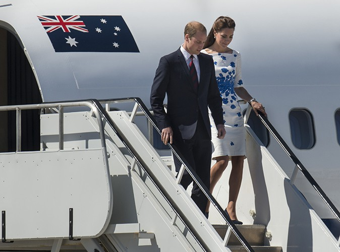 Le Prince William et Kate Middleton à Brisbane le 19 avril 2014