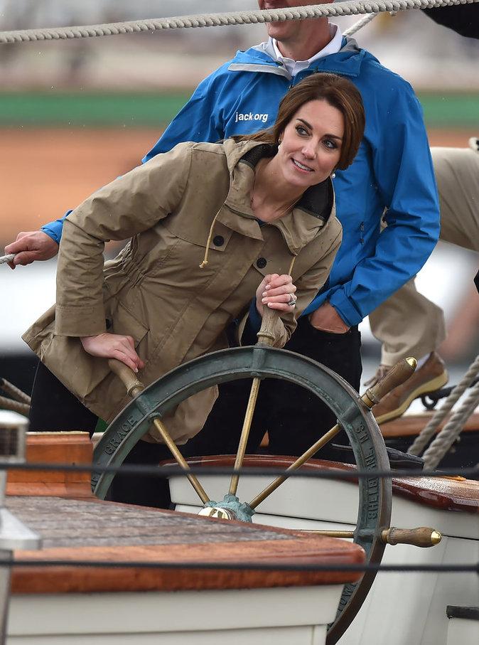 Kate Middleton à Victoria (Canada), le 1er octobre 2016