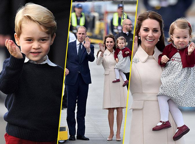 """Photos : Kate Middleton et ses enfants disent """"Aurevoir"""" au Canada !"""