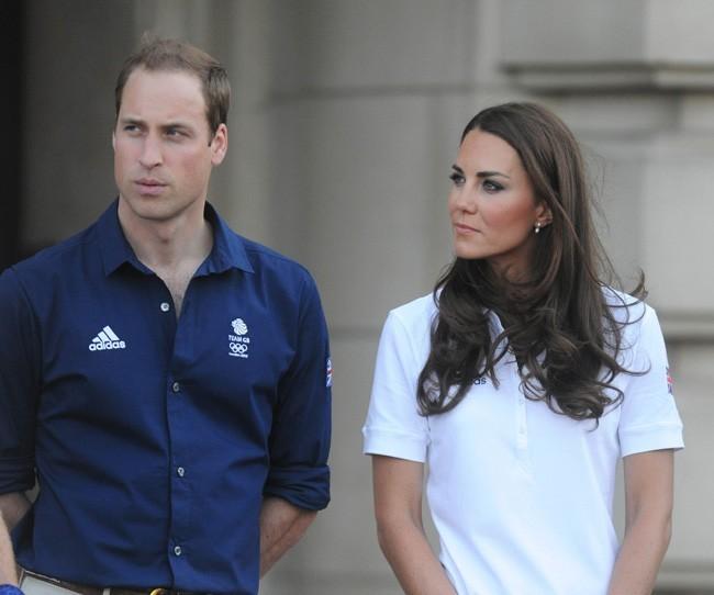 Kate Middleton et le Prince William le 26 juillet 2012 à Londres
