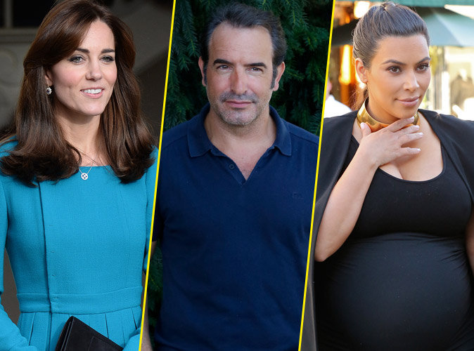 Photos kate middleton jean dujardin kim kardashian for Bebe jean dujardin