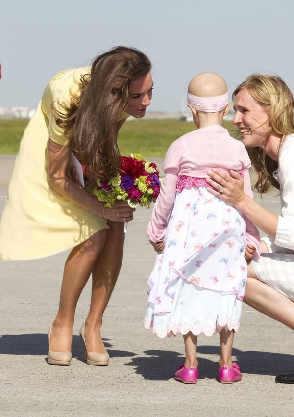 Kate en aura fait rêver des petites filles au Canada !