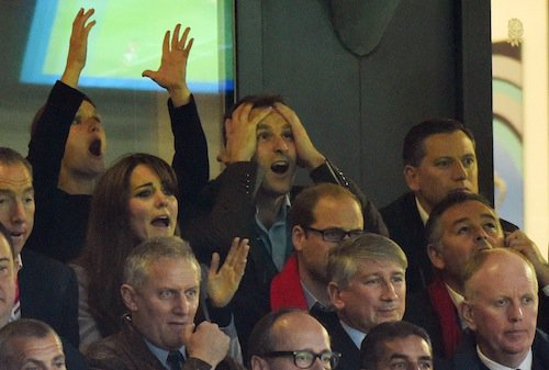 Photos : Kate Middleton : le rugby lui redonne la pêche !