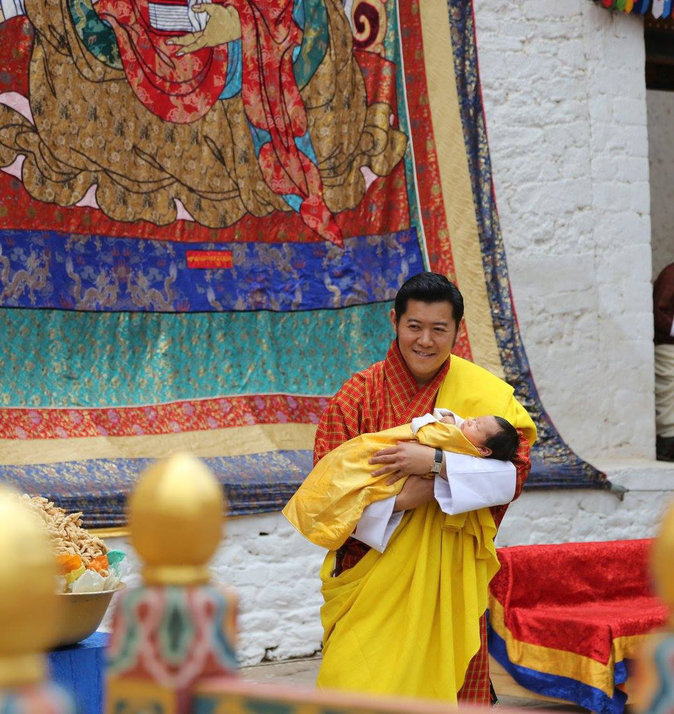 Jigme Khesar Namgyel Wangchuck, roi du Bhoutan