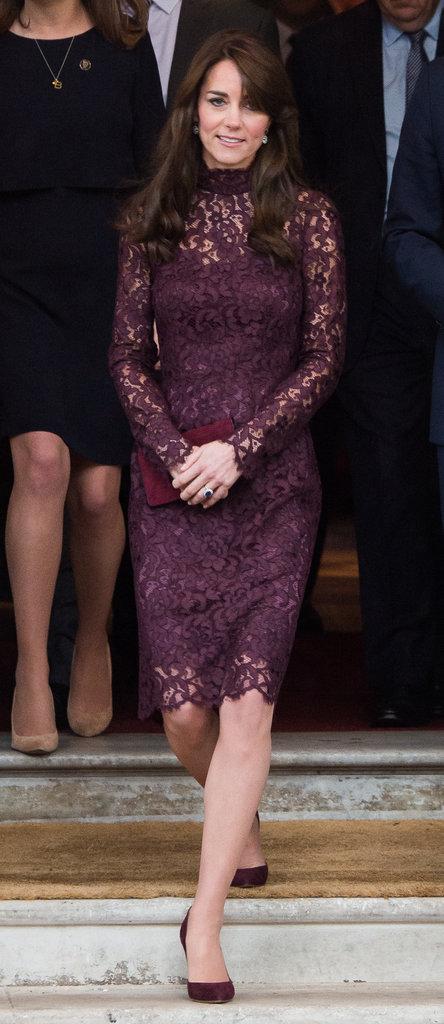 Kate Middleton et le prince William le 21 octobre 2015
