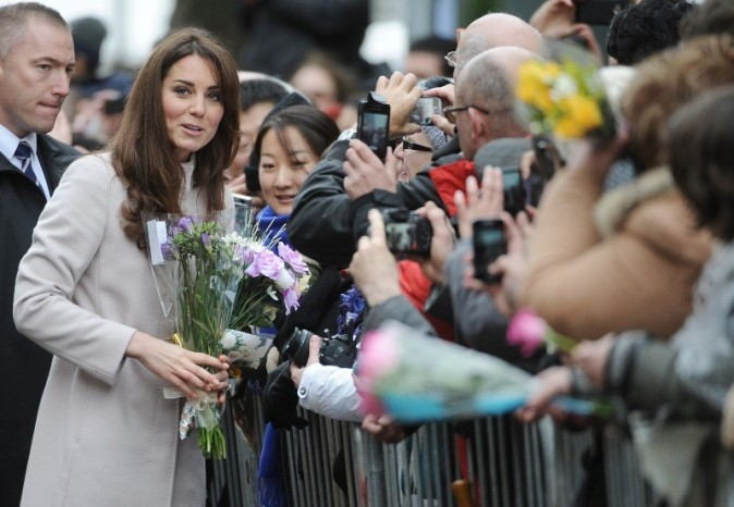 Kate Middleton à Cambridge, le 28 novembre 2012.