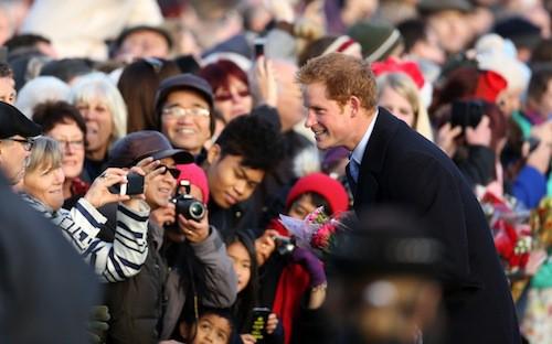 Le prince William à Sandringham, le 25 décembre 2014