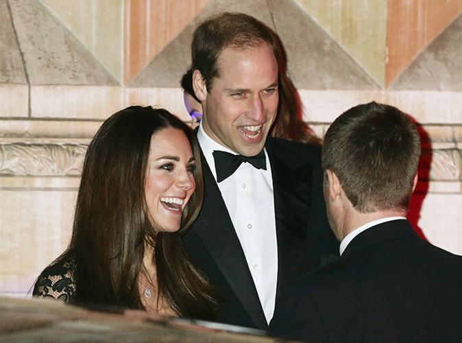 Kate Middleton et le Prince William à Londres le 11 décembre 2013