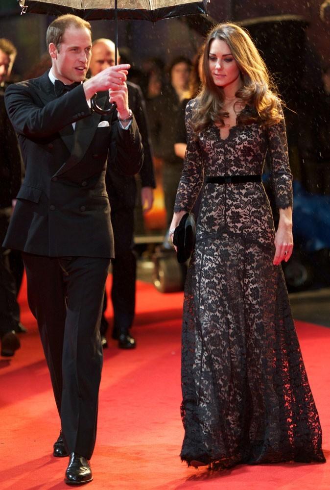 Photos : Kate Middleton à une Première à Londres, en 2012