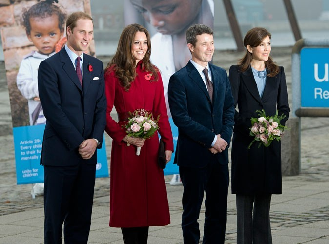 Photos : Kate Middleton visite le centre UNICEF du Danemark, en 2011
