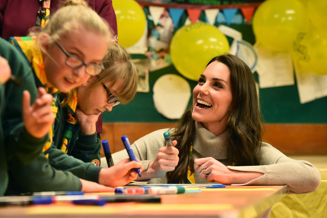 Photos : Kate Middleton : ses enfants réquisitionnés par Pippa !