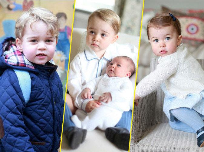 Prince George et Princesse Charlotte photographiés par Kate Middleton