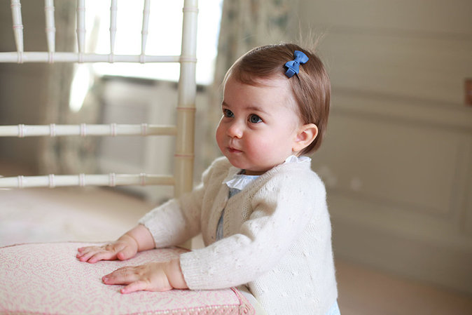 Princesse Charlotte photographiée par Kate Middleton