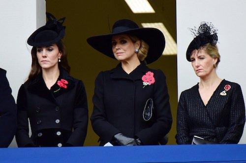 Photos : Kate Middleton : solennelle auprès de la reine Maxima des Pays-Bas