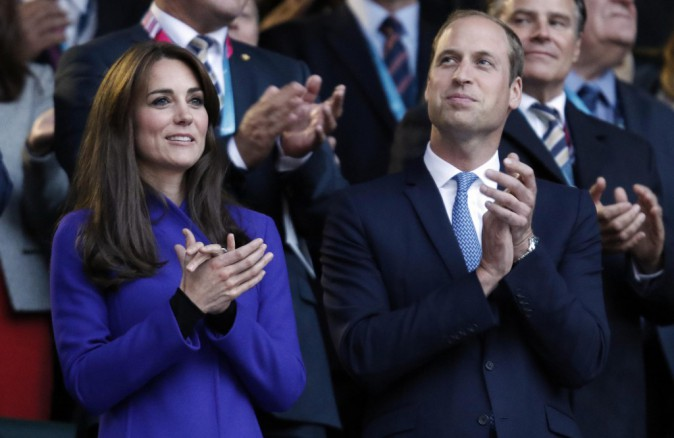 Photos : Kate Middleton : supportrice de charme aux côtés de William !