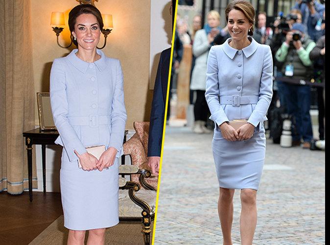 Photos : Kate Middleton : Toujours aussi chic pour sa première visite officielle en solo !