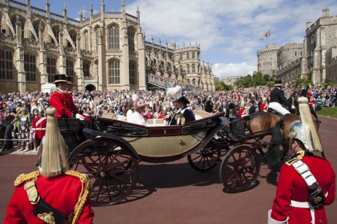 La calèche royale, pas mal non ? !