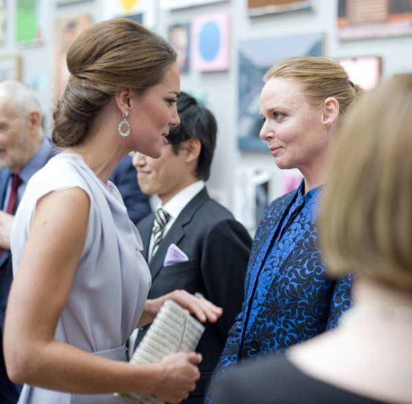 Kate Middleton et Stella McCartney le 30 juillet 2012 à Londres