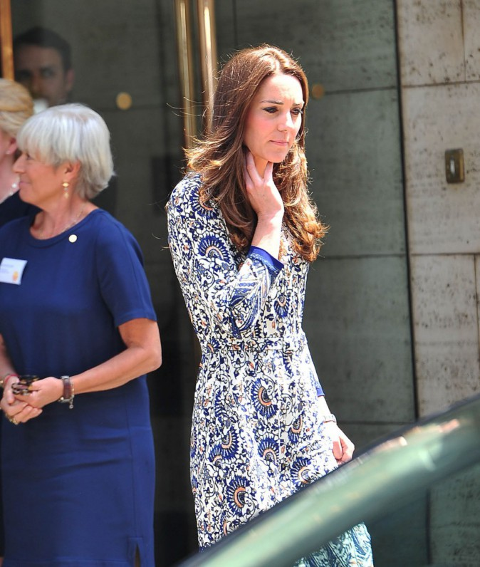 Kate Middleton le 30 juin à la Royal Society Of Medicine de Londres !