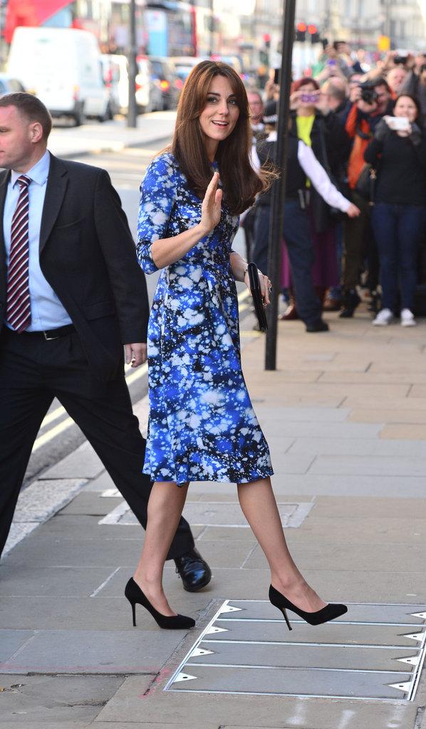 Kate Middleton et le prince William à Londres le 26 octobre 2015