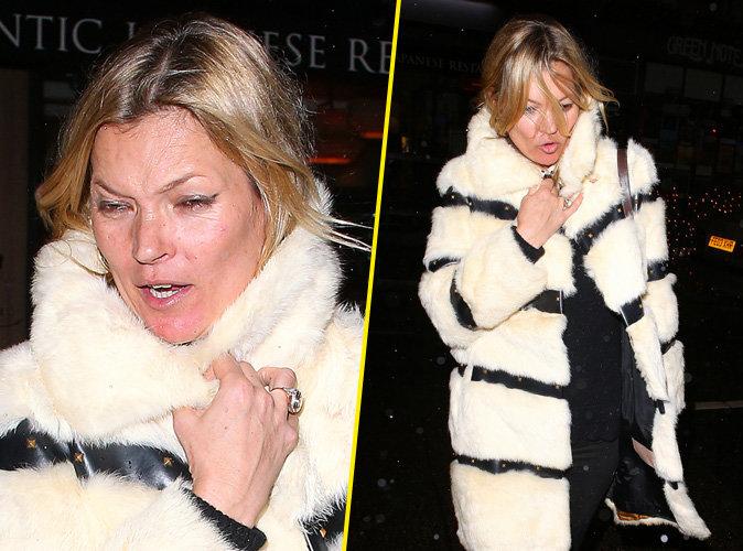 Kate Moss : coup de vieux et grimaces à l'approche de son anniversaire !